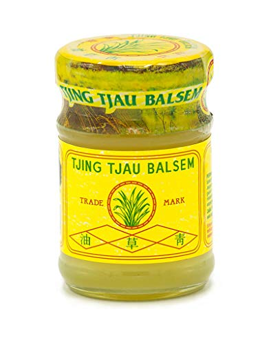 Tjing Tjau Balsem Yellow Balm, 36 g / 1.27 oz (Pack of 10)
