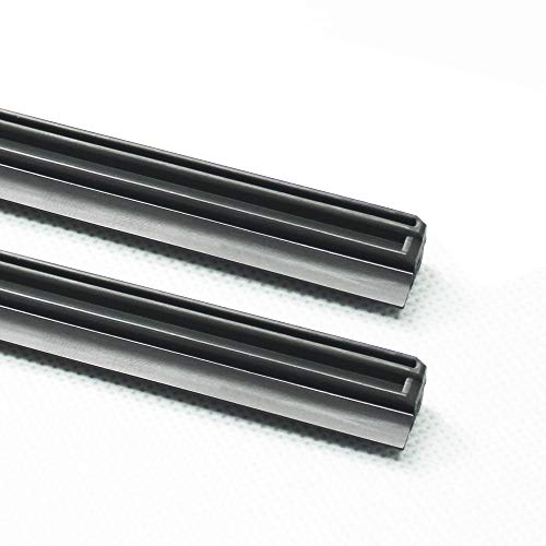 "ASLAM Wiper Blade Refills 24""+17"" for Infiniti QX50 Original Mitsuba Hybrid Windshield Wipers(1 Pair)"