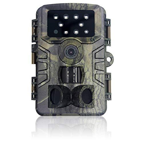 WJY Cámara de Caza 20MP 1080P, Cámara de Fototrampeo de Sensor de Movimiento de Tiempo de Disparo de 0,2s, Gran Angular de 120°, Impermeable IP66 Cámara de Caza Vigilancia