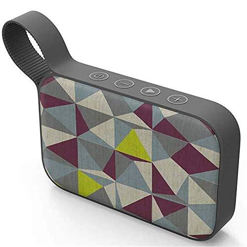Felaaca Altavoces Altavoz Bluetooth Mini subwoofer inalámbrico portátil Altavoz portátil al Aire Libre Reproductor de Audio estéreo MP3