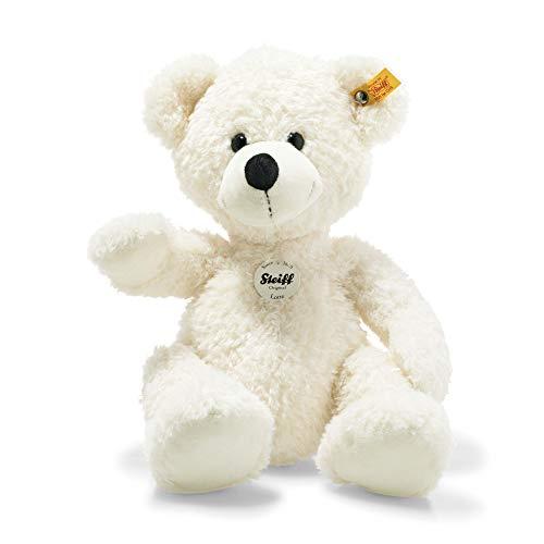 Steiff Teddybär Lotte - 40 cm - Teddy Kuscheltier für Kinder - beweglich & waschbar - weiß (111778)
