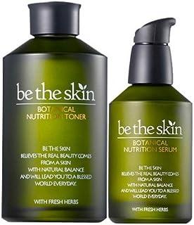 be the skin ボタニカル ニュートリション パーフェクト ケア 2種(トーナ&セラム セット)/Botanical Nutrition Toner & Serum [並行輸入品]