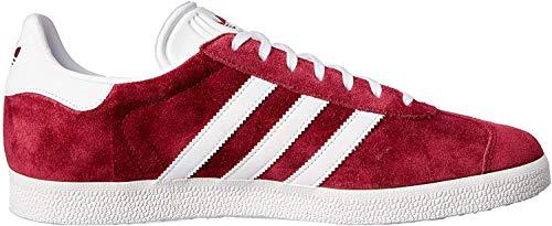 adidas Herren Gazelle Fitnessschuhe, Rot (Buruni/Ftwbla/Dormet 000), 44 EU