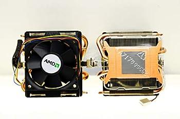 AMD Socket AM3/AM2+/AM2/1207/939/940/754 Copper Base/Alum Heat Sink & 2.75  Fan w/Heatpipes & 4-Pin Connector