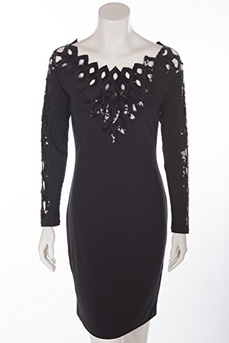 Joseph Ribkoff Showstopper Dress, 161995, Black -  Black -  18