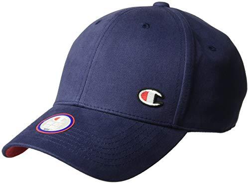 Champion Herren Classic Twill Hat with C Patch Baseball Cap, Imperial Indigo, Einheitsgröße