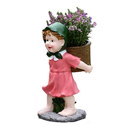 Jardineras para macetas Jardín al Aire Libre Planta linda maceta decoración de jardín Macetas de la manera creativa Pot arte del arte en maceta sin incluir las flores Decoración del plantador regalo