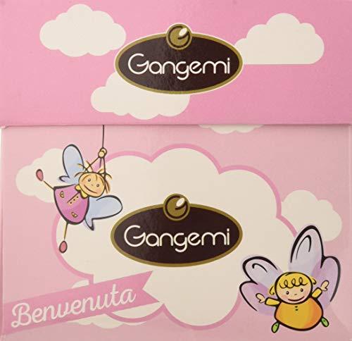 """Gangemi - """"Benvenuta"""" Elegante Scatola di Confetti Rosa con Mandorla e Cioccolato Confezionati Singolarmente"""