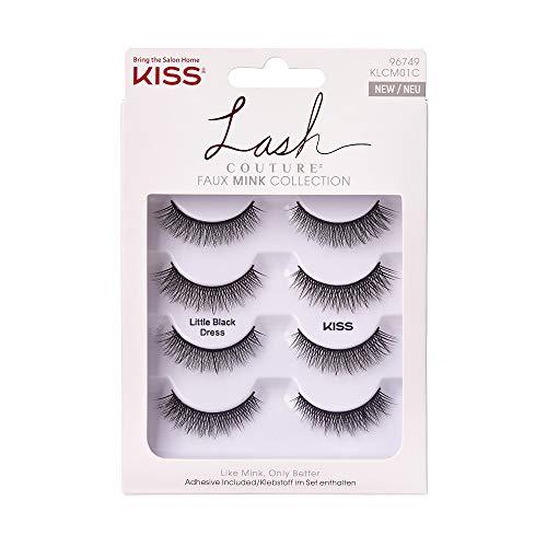 KISS Lash Couture Kunstnerz Multipack 01 – Kleines schwarzes Kleid
