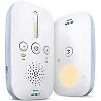 Philips AVENT SCD503/26 Audio-video Monitor para bebés, 330 m, Blanco, 120 canales, Corriente alterna, Batería 24 h