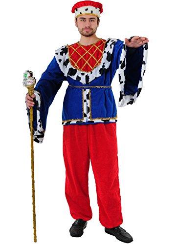 Stamco Disfraz de Rey de la Edad Media