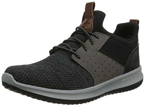 Skechers Classic Fit Delson Camben Black/Grey 12