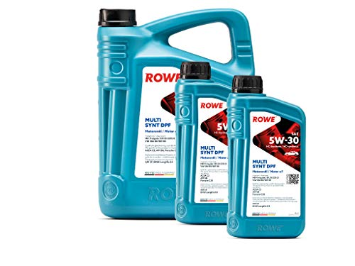 7 Liter (5L+2L) ROWE HIGHTEC MULTI SYNT DPF SAE 5W-30 Motoröl Made in Germany