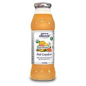 Lakewood Organic PURE Pink Grapefruit Juice, 12.5-Ounce Bottles (Pack of 12) |