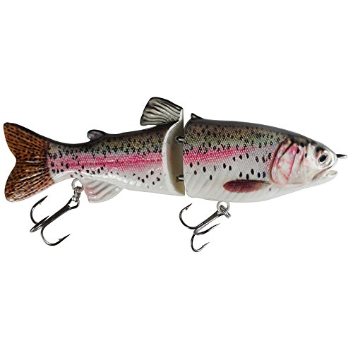 kachawoo Glide Swimbait for Bass Fishing Lures S Curve Swimming 7 Inch...