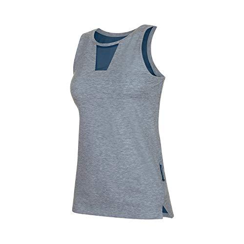 Mammut Damen Camiseta Tirantes Crashiano Mujer T-Shirt, Bleu Sarcelle (Wing Teal Melange/Wing Teal), XS