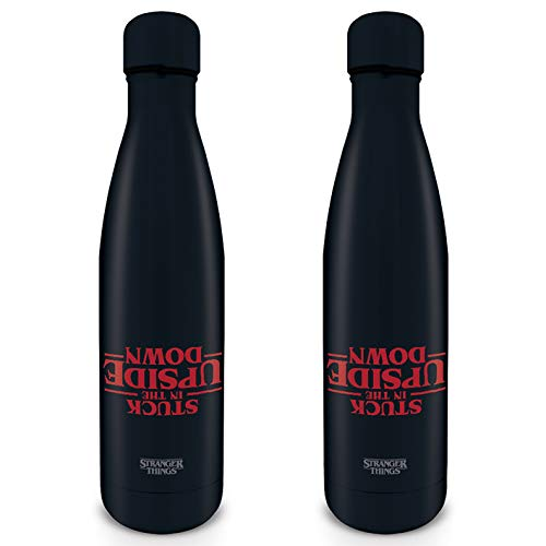 Stranger Things MDB25388 - Botella de Metal (500 ml), diseñ