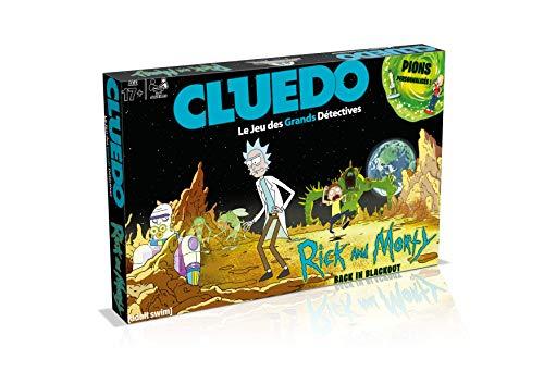 CLUEDO RICK AND MORTY - Jeu de société - Version française