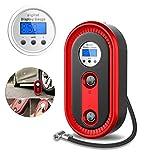 MEGAN 12V Portable Mini Compresseur d'air Auto LED Pneu Électrique Pneumatique Air Gonfleur De Pneu Numérique Gonfleur pour Trave # 30
