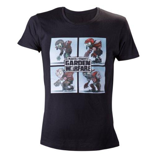 Plants vs Zombies Zombie Team T-Shirt -M- Schwarz