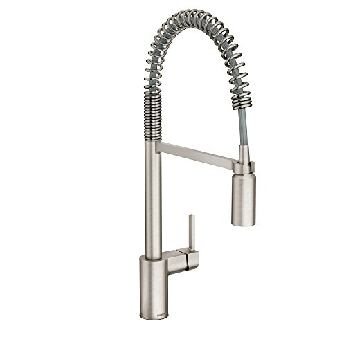 moen kitchen faucet in chrome - 3
