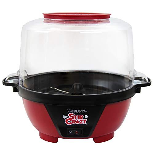 West Bend 82505 Stir Crazy Electric Hot Oil Popcorn Popper Machine...
