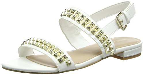 ALDO Cadaressa, Sandales Bride arrière Femme, Blanc (Bright White 70), 39 EU