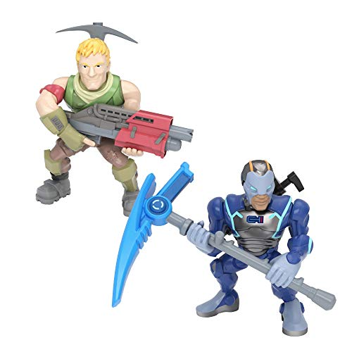 Fortnite Battle Royale Collection: Carbide & Sergeant Jonesy - 2 Pack of Action Figures