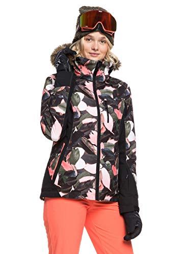 Roxy Damen Snow Jacke Jet Ski - Snow Jacke, living coral plumes, S, ERJTJ03218