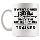 Women Trainer Mug Coach Coffee Cup Mugs - Instructor Athletic Fitness...