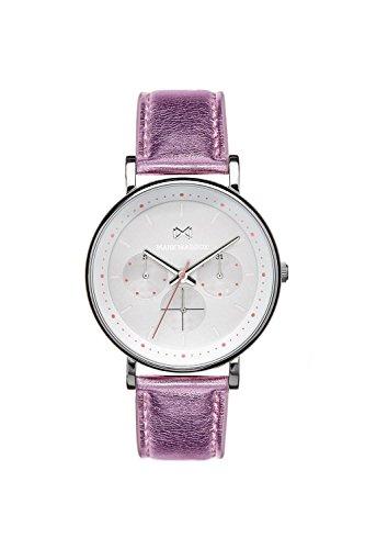 Mark Maddox Reloj Analogico para Mujer de Cuarzo con Correa en Cuero MC0101-17