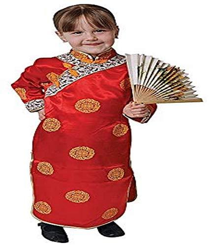 Dress Up America Disfraz de Geisha para niñas (Niñas 1-2 años (Cintura 61-66cm, Altura 84-92cm))