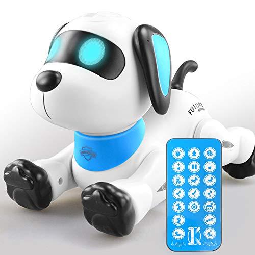 Juguete inteligente para perro, mini perro de control remoto, baile inteligente interactivo programable electrónico mascota, para niños y niñas mayores de seis años