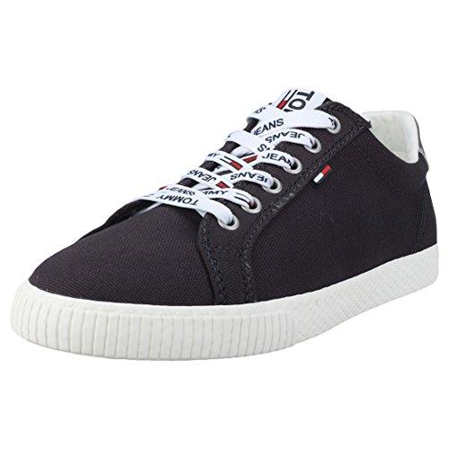 Tommy Jeans Hilfiger Denim Casual Sneaker, Scarpe da Ginnastica Basse Donna, Blu (Midnight 403), 40 EU