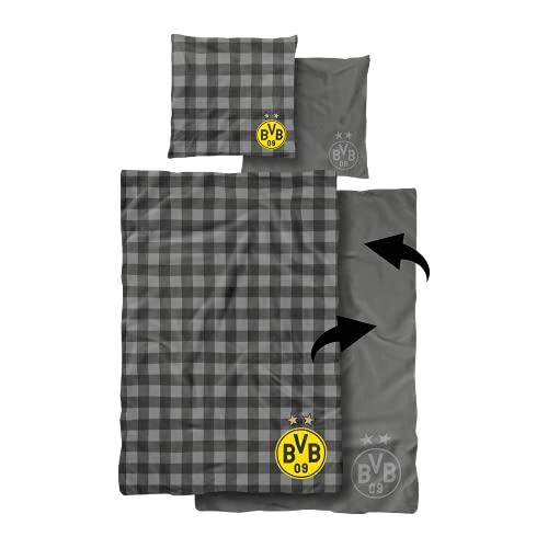 Borussia Dortmund BVB-Wendebettwäsche (135 x 200 cm)