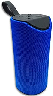 WELROCK Super Bass Splashproof Wireless Bluetooth Speaker, Playing with Mobile/Tablet/Laptop/AUX/Memory Card/Pan Drive/FM (Blue)