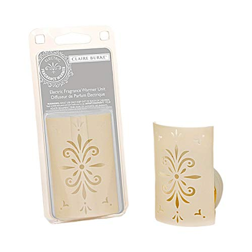 Claire Burke Air Freshener Plug in Scented Oil Warmer Unit 1 ct. (Oil not Included)