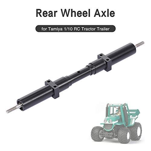 Leepesx för Tamiya 1/10 RC traktor lastbil släp 167 mm bakre hjul axel metall icke driven transmissionsaxel