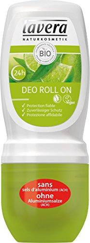 lavera desodorante Roll On con Verbena bio - vegano - cosméticos naturales 100% certificados - cuidado de la piel