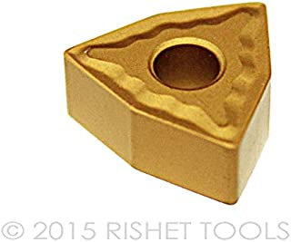 RISHET TOOLS 50216 CNMG 432 CNMG 120408 Grade RP225 High Performance Carbide Inserts Pack of 10