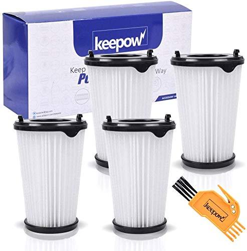 KEEPOW 4 Filtros para Aspiradora Ergorapido AEG CX7 CX7-2 para Todos los Modelos, Pack Familiar: Amazon.es: Hogar