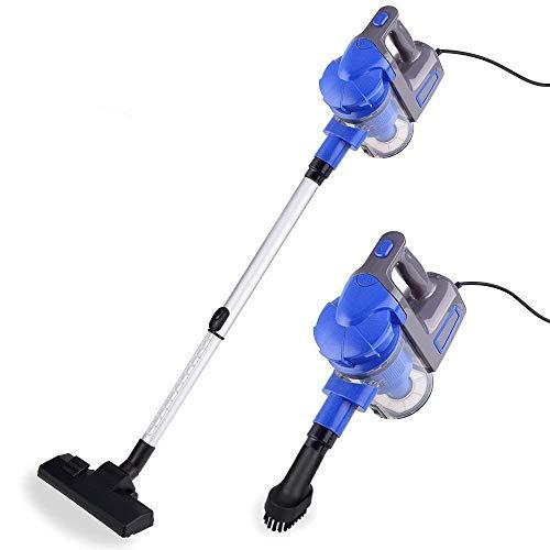 ZGQA-GQA Limpiador de aspiradora con cable Ligera Ligera sin bolsa 2 en 1 Lugares verticales y portátiles de mano ultra-silencioso...