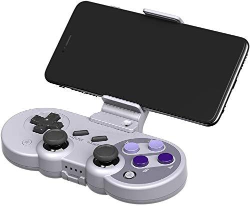 GOZAR 8Bitdo Handy-Extender Halter Halterung Für Sn30 Sf30 Pro Gamepad Controller