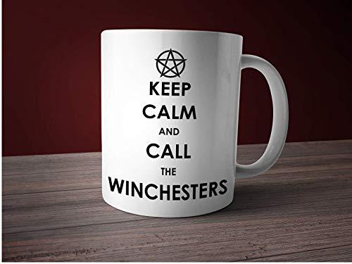 Supernatural Tasse mit Spruch Keep Calm