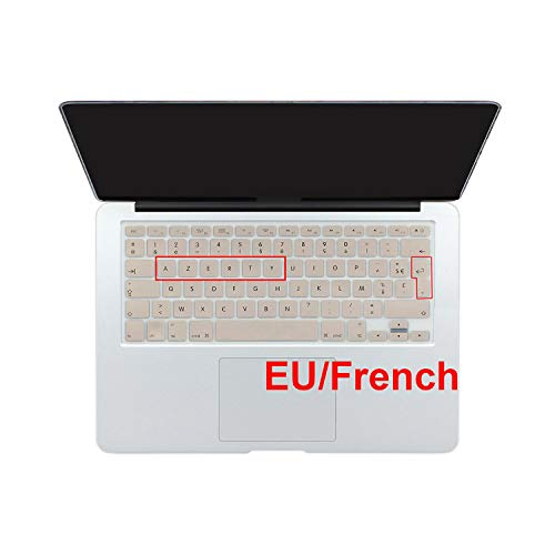 Protective Cover for Macbook Pro Air 13 15 17 Cyrillic-EU French Gold