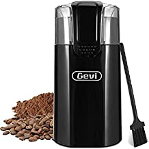 Grinder for Coffee Espresso Latte Mochas, Noiseless Operation,Coffee Bean & Spice Grinder with 60g Large Grinding Capacity