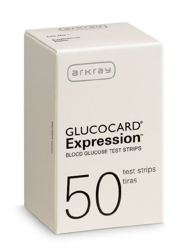 Arkray Glucocard Expression, 50 Count