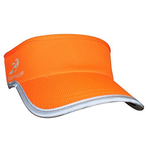 Headsweats rigides Supervisor High Visibility Écran Bande Visor Taille Unique Orange Fluo