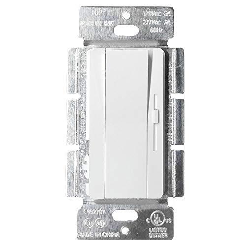 Hyperlite 1-10V Dimmer Switch for 1-10V Dimmable LED,Single-Pole Solide,UL Listed