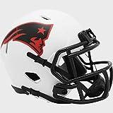 New England Patriots NFL Mini Speed Football Helmet LUNAR ECLIPSE - New in Box